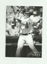 2018 TOPPS ON DEMAND B&W #29 AUSTIN HAYS RC NM-MT