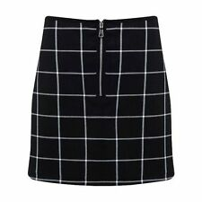 Unbranded Polyester Checked Party Skirts for Women