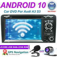 Autoradio pour Audi A3 S3 RS3 Android 10 GPS Navi Car DVD Autoradio Wifi BT 5.0