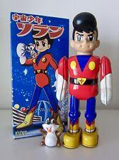"""UCHUU SHOUNEN SORAN (SPACE BOY SORAN). 9"""" TIN WIND UP. BILLIKIN SHOKAI. 1997"""