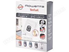 4 sacs aspirateur Rowenta hygiène + anti odeur pour silence Force 4A - ZR200720