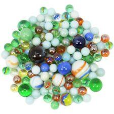 1 kg Glasmurmeln, große und kleine Glas Murmeln zum Spielen und Sammeln