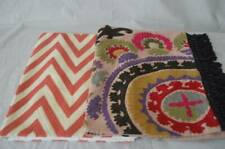 """NWT Pottery Barn Pillow Cover Sham 16"""" x 26"""" Chevron Embroidered Sumeena"""