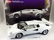KYOSHO 1:12 scale Lamborghini Countach LP5000S/5000 S(White) 08612W *ULTRA RARE*