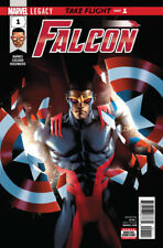 MARVEL COMICS LEGACY FALCON #1 1ST PRINT STANDARD EDITION 2017 W/VALUE STAMP