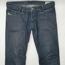 Diesel Pojak Wash 0088Z W33 L32 blau Herren Designer Denim Jeans Hose Mode Italy