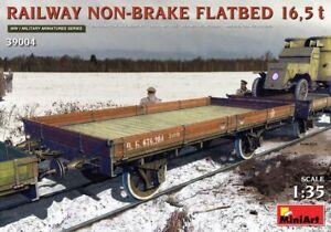 MIN39004 - Miniart WWI 1:35 - Railway Non-Brake Flatbed 16.5t