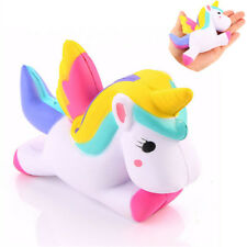 "4.5"" Jumbo Slow Rising Squishies Unicorn Kawaii Scented Soft Squishy Charms AY"