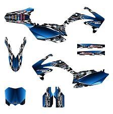 2010 2011 2012 2013 CRF 250 R graphics Honda 250R deco kit #2500 Blue