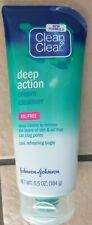 Clean & Clear Deep Action Cream Cleanser, & For Sensitive Skin Oil-Free - Choose