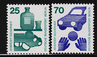 1971 Germany Berlin Accident Prevention Issues with Control Numbers MNH VF