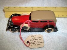 """Tootsie Toy Car, Made to resemble a Duesenberg Model""""A"""""""