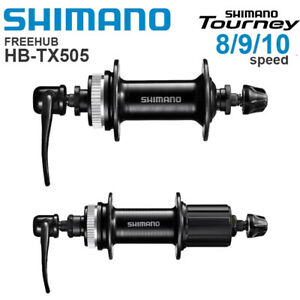 Shimano Tourney FH-TX505 8/9/10 Speed Freehub 32H With Quick Release RM33 M495