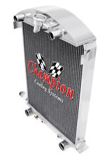 3 Row AAR Champion Radiator for 1930 1931 Ford Model A Flathead Conversion