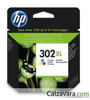 HP CARTUCCIA ORIGINALE TRICROMIA 302 XL