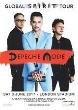Depeche Mode - London Stadium 3rd June, Global Spirit Tour 2017 - A4 Photo Print