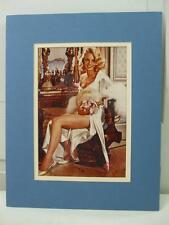 Vintage Carroll Baker Glossy Color Photo Sexy Lingerie Pin Up Model Actress
