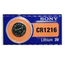 1x Pila Boton Sony CR1216 Batería Litio 3V