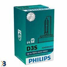 D3S Philips X-treme Vision Xenon Headlamp (Single) 35W 42403XV2C1