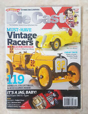 2013 Die Cast X COLLECTIBLE MAGAZINE FEAT. Vintage Racers HOT WHEELS