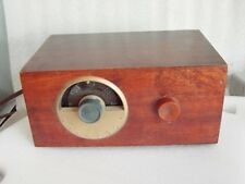 1953 Vintage Motorola UHF CONVERTER Strata-Tuner Model TC101 Solid Wooden Case