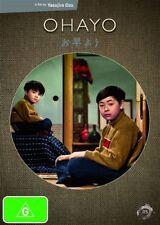 OHAYO - A Yasujiro Ozu FILM DIRECTORS SUITE GENUINE R4 DVD NEW/SEALED JAPAN RARE