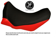 RED BLACK VINYL CUSTOM FOR HONDA AFRICA TWIN CRF1000L 15-17 FRONT LOW SEAT COVER