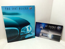 Vintage 1997 Buick Sales Brochure Full Line + Le Sabre Dealer Advertisement Book