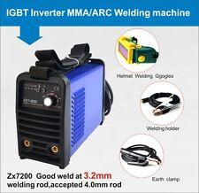 High quality 200A IGBT arc welder mma welding machine & helmet & 240V & VAT