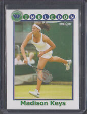 1/1 UNIQUE MADISON KEYS 2014 Wimbledon Card RARE ROOKIE RC RARE (serve)