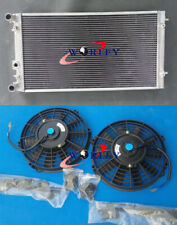 aluminum radiator +FANS VW FITS BEETLE 1.8 1.9 2.0 2.5 L4 4CYL L5 5CYL 98-2009