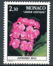 STAMP / TIMBRE DE MONACO N° 1308 ** FLORE / PLANTES DU JARDIN EXOTIQUE