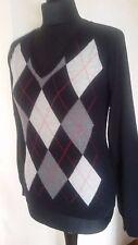 Pullover Damen Gr.M Schwarz V-Ausschnitt wie Neu