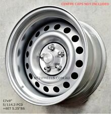 "17"" 8"" & 9"" SILVER INTERCEPTOR WHEELS FORD FALCON XW XY XB XC XE EB EL XR6 XR8"