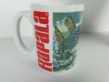 Rapala Fishing Coffee Mug Fish Bait Lure Vintage