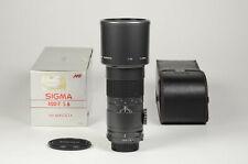 Sigma 400 mm. F.  5.6 MF lens x Minolta - Garanzia Tuttofoto.com