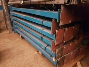 Used Steel Posts Universal Beam, Box Section, Mezzanine Floor Legs