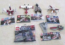 Lego - Star wars - Polybag collection - 8082 - 8031 - 30240 - 8033 - 30051 ++