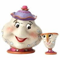 Disney Beauty and the Beast Mrs Potts and Chip a Mothers Love Figurine - Boxed