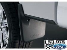 04 thru 14 F-150 OEM Ford Molded Splash Guards Mud Flaps with Wheel Lips 4-pc