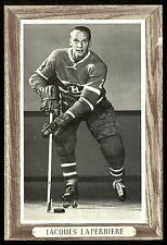 1964-1967 BEEHIVE GROUP 3 JACQUES LAPERRIERE EX+ MONTREAL CANADIENS HOCKEY PHOTO
