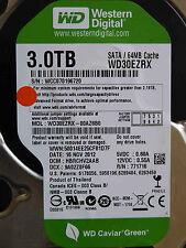 3 TB Western Digital WD30EZRX-00AZ6B0 / HBRCHV2AAB / NOV 2012 disco duro