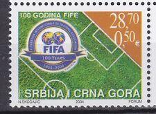SERBIA & MONTENEGRO 2004 **MNH SC# 252 FIFA - Federation Intenationale de