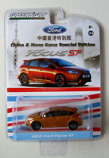 GREENLIGHT CHINA & HONG KONG SPECIAL ED 2012 FORD FOCUS ST TURBO 252HP Low #0137