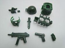 (no.9-1 Dark Green ) custom swat police NAVY SEAL gun army  for LEGO minifigure