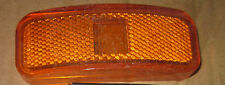Amber 1.5 x 4 Lens Only Clearance Tail Light MC-44AB  NOS Lot of 5