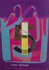 PUBLICITE PARFUM CHANEL N°5 VAPORISATEUR DE SAC DE 2001 FRENCH AD PERFUME PUB