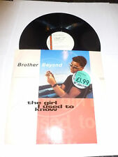 "BROTHER BEYOND - The Girl I Used... (Shep Pettibone Mix) - 1990 UK 12"" Single"