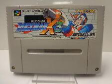 SNES Jeu-ROCKMAN x3/Mega Man x3 (JAP Import) (Module)
