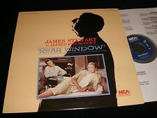 "REAR WINDOW  ° JAMES STEWART/HICHCOCK  <> 12"" Laserdisc <> MCA HOME VIDEO  40081"